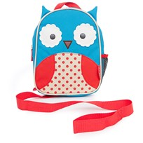 Skip Hop Zoo Let BackPack Zoo Mini Backpack With Safety Harness Blue