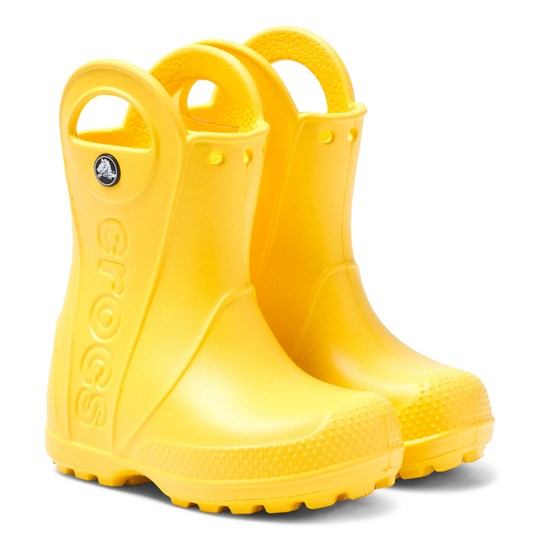 Crocs Handle It Rainboot Yellow Yellow