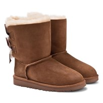 UGG K Bailey Bow Chestnut  BROWN