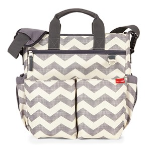Image of Skip Hop Duo Signature Diaper Bag Chevrons (3066369057)