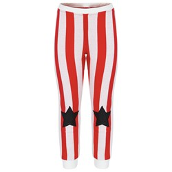 The BRAND Striped Star Pant Red Stripe