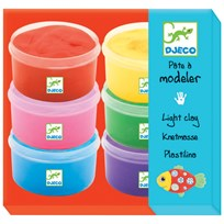 Djeco Light Clay Multi