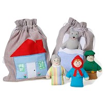oskar&ellen Игрушка Story Bag Little Red Hood пестрый