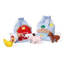 oskar&ellen Story Bag Farm Multi