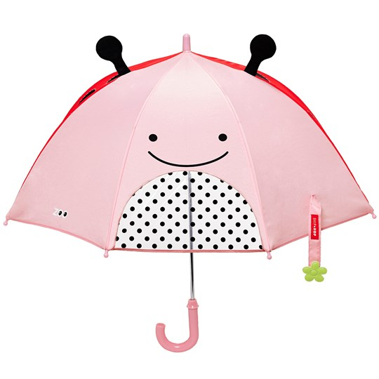 Skip Hop Zoobrella Little Kid Paraply Nyckelpiga Multi