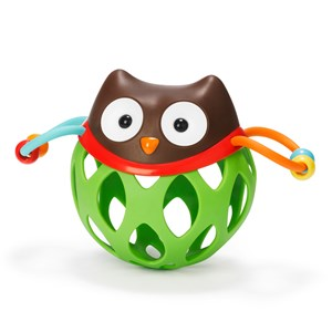 Image of Skip Hop Explore & More Roll-Around Rattle Owl (3015621979)