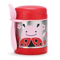 Skip Hop Zoo Insulated Food Jar Ladybug Lady Bug