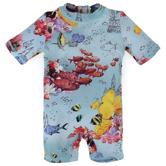 Stella McCartney Kids Taylor Swimshort  3D Fish Pr