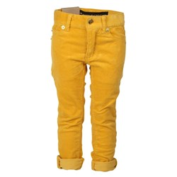 Mini Rodini Santiago Slim Cord Yellow