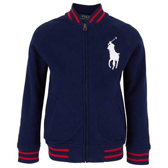 Ralph Lauren Lsl Baseball Jkt Big Pp Cruise Navy