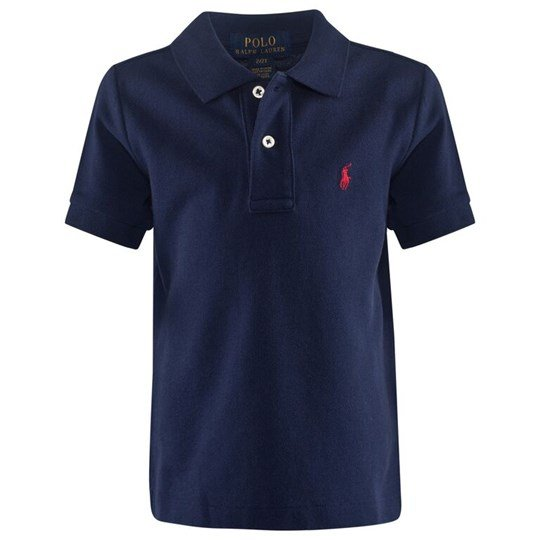 Ralph Lauren Ss Classic Polo French Navy