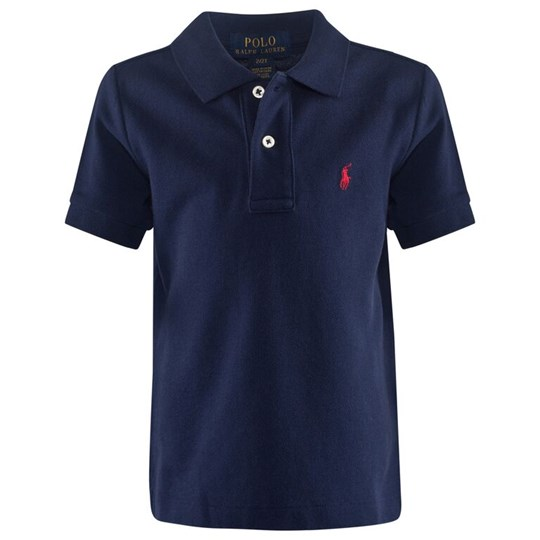 Ralph Lauren Solid Basic Mesh Polo Blue French Navy