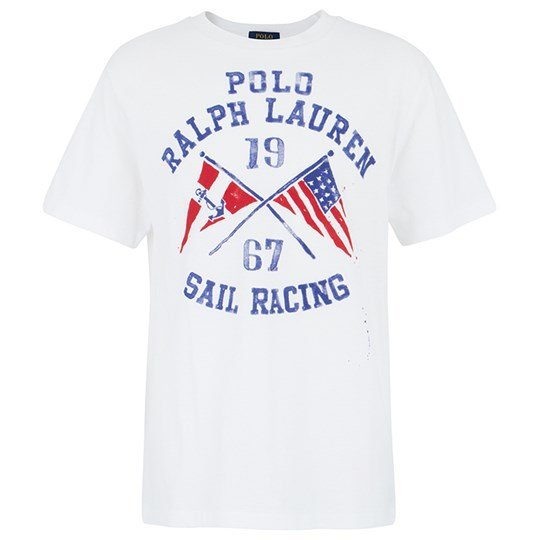 Ralph Lauren Ssl Cn Graphic White