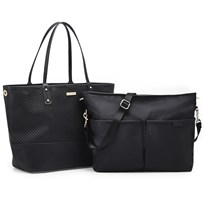 Skip Hop Duet Bag Black Black