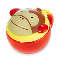 Skip Hop Контейнер Zoo Snack Bowl Monkey пестрый