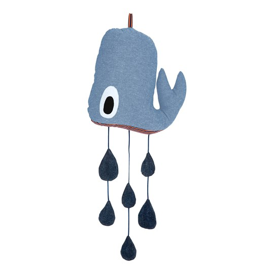 ferm LIVING Whale Mobile Grey
