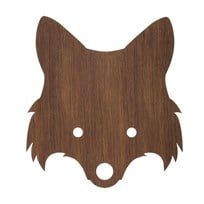 ferm LIVING Fox Lamp Smoaked Oak Brun