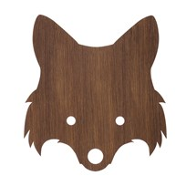 ferm LIVING Fox Lamp Smoaked Oak Ruskea