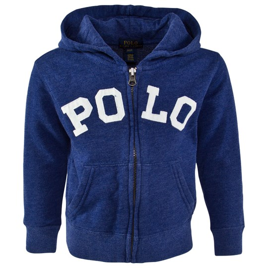 Ralph Lauren Lsl Fz Hood Fall Royal Blå