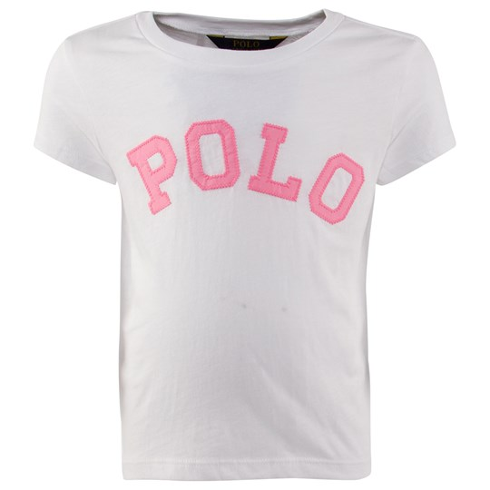 Ralph Lauren Ssl Polo Tee White Vit