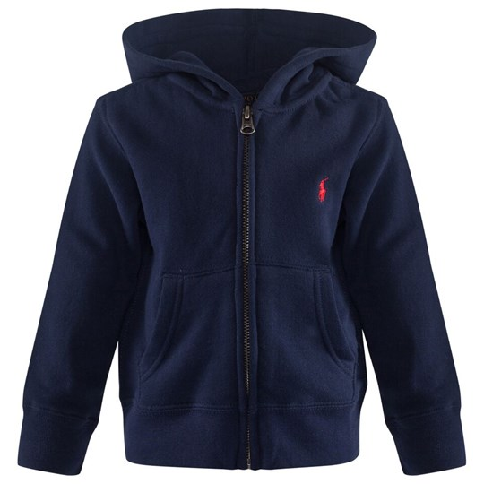 Ralph Lauren Navy Hoody with PP Blue