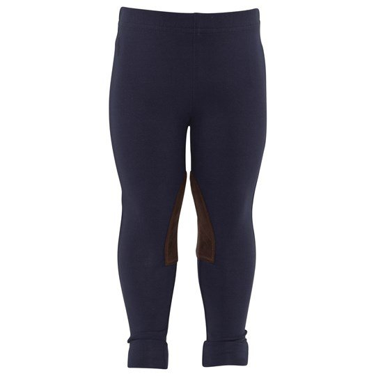 Ralph Lauren Ginnie Legging W/Pp French Navy Blå