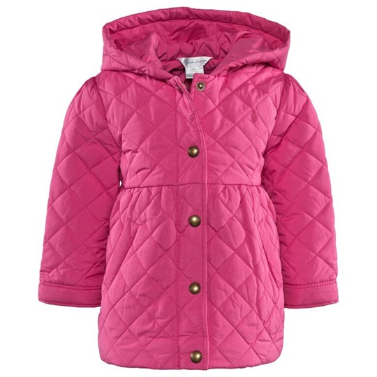 Ralph Lauren Quilted Barn Jacket Pp Madison Pink Pink
