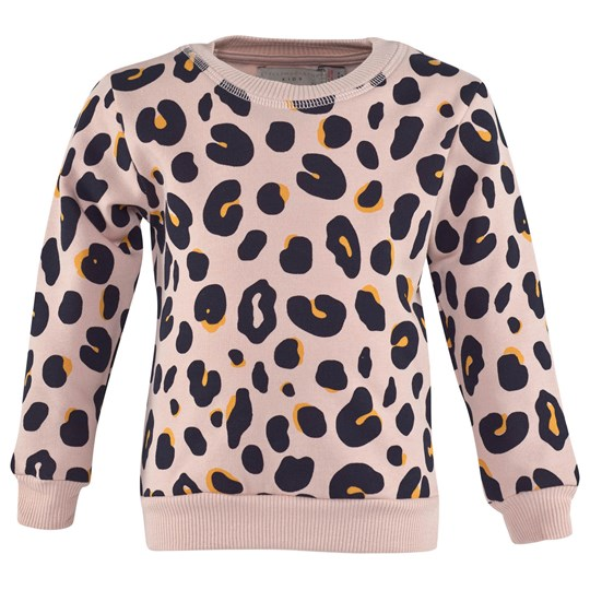 Stella McCartney Kids Betty Sweatshirt Leopard Peony Pr Pink