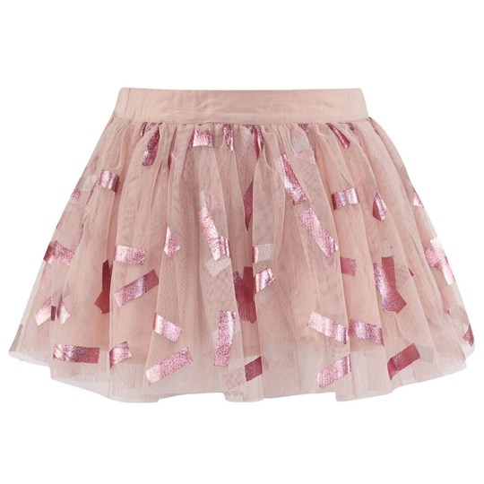 Stella McCartney Kids Honey Skirt Tic Tac Pr Rosa