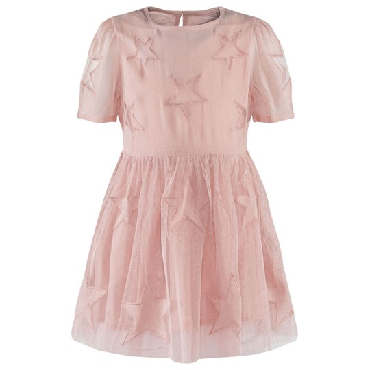 Stella McCartney Kids Sally Dress Peony Lyserød