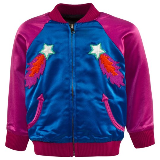 Stella McCartney Kids Willow Bomber Brillant Blue Blue