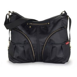 Skip Hop Versa Expandable Diaper Bag Black
