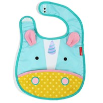 Skip Hop Zoo Tuck-Away Bib Multi