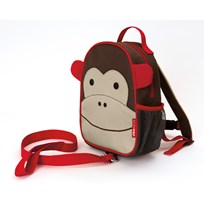 Skip Hop Zoo Mini Backpack With Safety Harness Monkey Multi