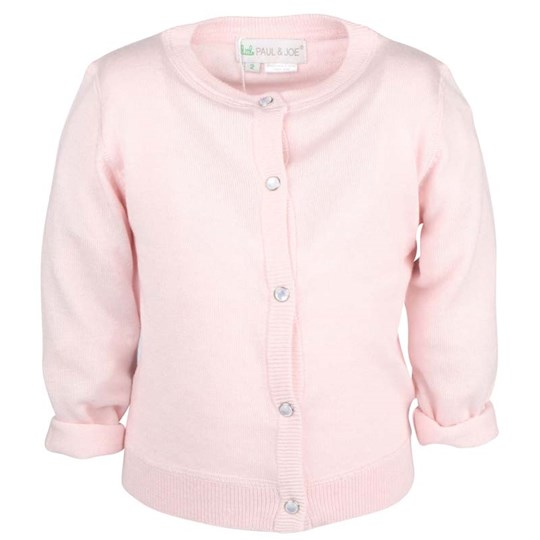 Little Paul & Joe Clemence Cardigan Pink