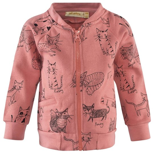 Soft Gallery Shay Jacket Rosette, AOP Kitty Pink