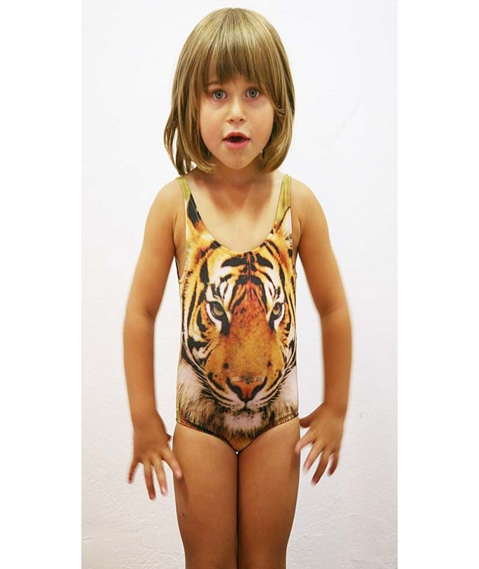 Swimsuit Tiger Print