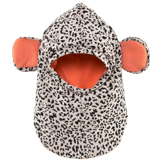 BANGBANG Copenhagen Teddy Balaclava Black/White Mixed Sort