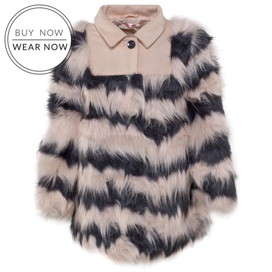 Billieblush Fake Fur Unique White