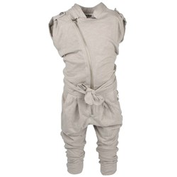 Kik Kid Suit Girl Irregular Yarn Grey
