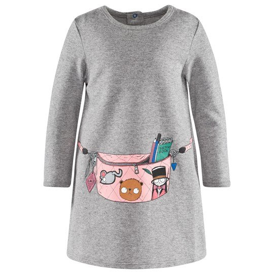 Little Marc Jacobs Dress Grey Marl Grey
