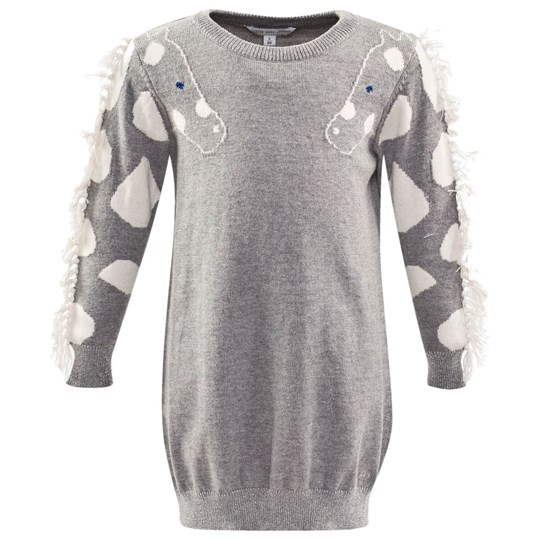 Little Marc Jacobs Dress Grey Marl Harmaa