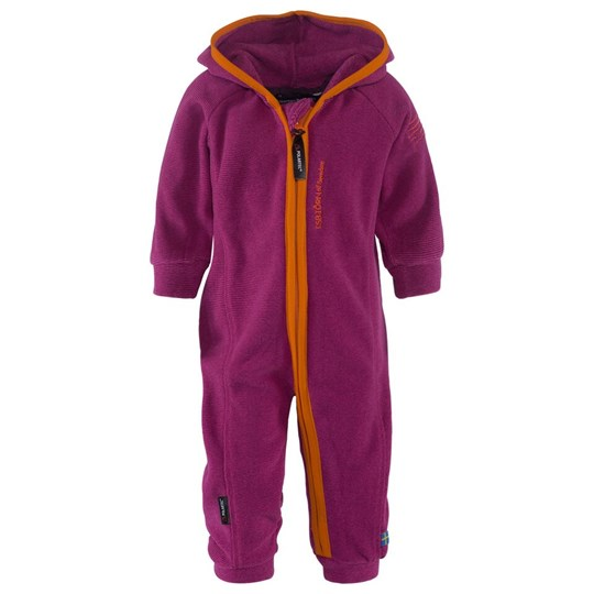 Isbjörn Of Sweden Lynx Microfleece Jumpsuit Blueberry/Smoothie Blue
