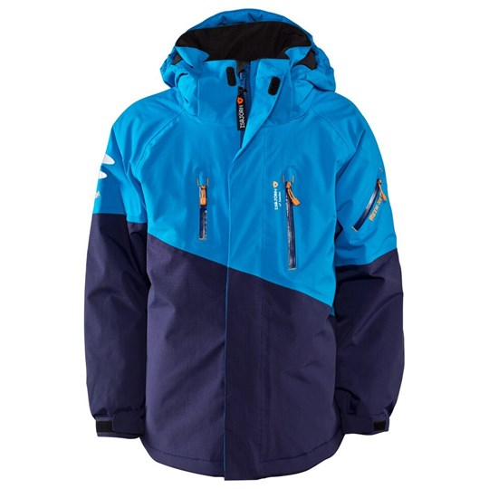 Isbjörn Of Sweden Freeride Ski Jacket Navy/Ice Sininen