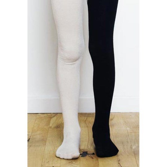 Popupshop Stockings Black White Multi