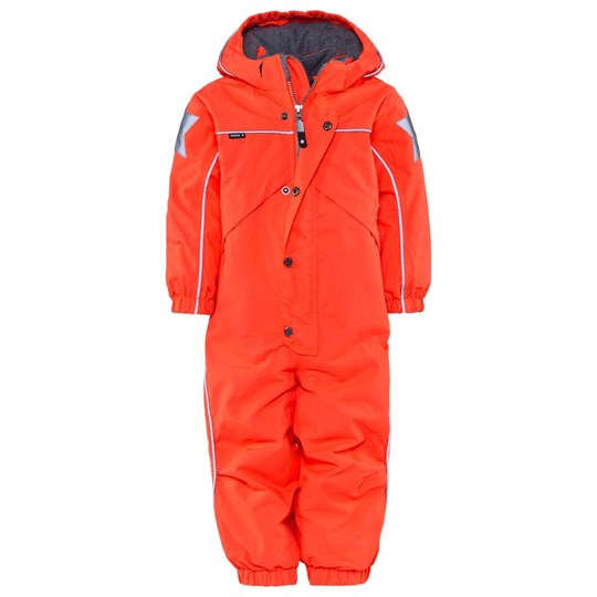 Molo Polaris Junior Snowsuit Fiery Coral Rosa
