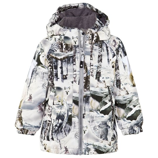 Molo Cathy Jacket Snow Animals Multi