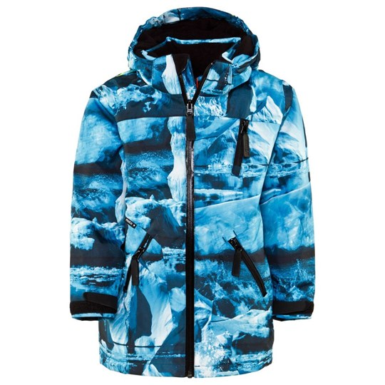 Molo Alpine Jacket Ice Surf пестрый