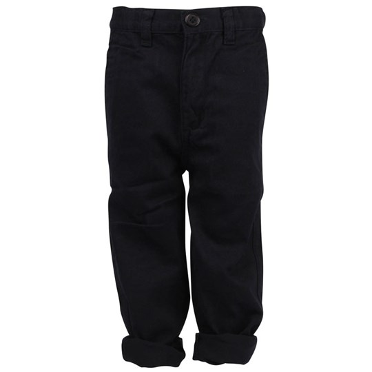Popupshop Canvas Pants Darkblue Blue