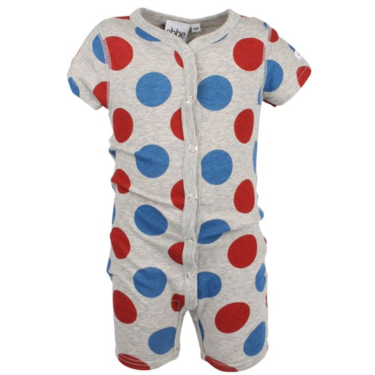 ebbe Kids Bart Beachsuit Blue/Red Dot Black